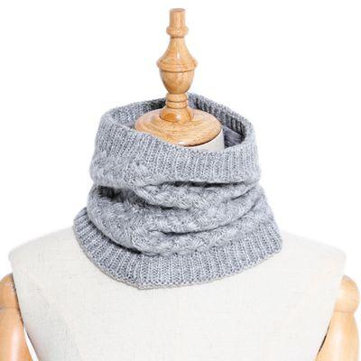 Winter Ring Scarf New Wool Plus Velvet Scarfs for Men/Women Fashional Thickness Soft Warm Casual Knit Collar Muffler 13 Colors Wholesale