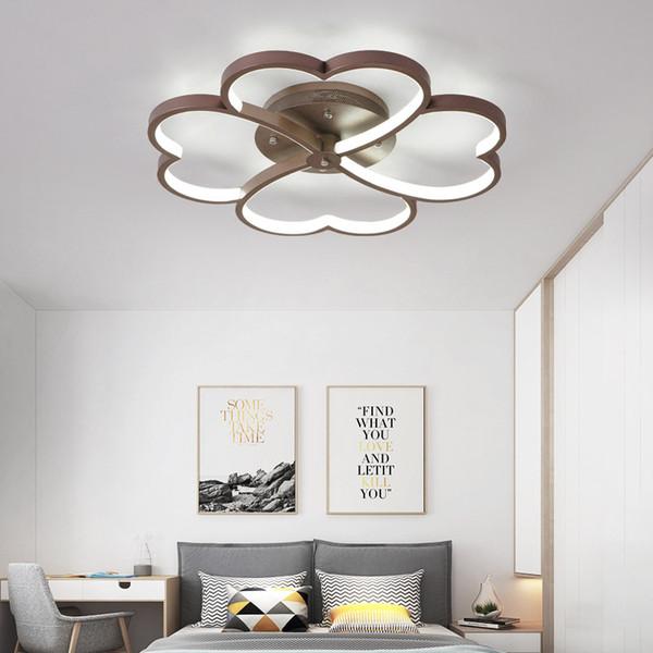 Großhandel Moderne Licht Deckenleuchten Wohnzimmer Schlafzimmer Beleuchtung  Mit Fernbedienung Ac85 265v Designer Deckenleuchte Hause Leuchten Dero ...