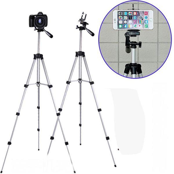 Stative Handy Stativ Aluminiumlegierung Nachtfischen Licht Teleskop Kamera Stativ Fotografie Universal Micro Einzelhalterung