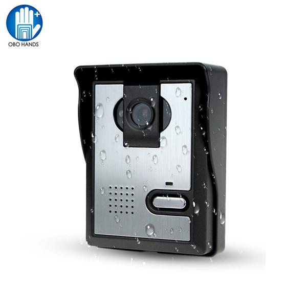 Ücretsiz Kargo Görüntülü Kapı Telefonu Sistemi Açık CMOS Gece Görüş Kamera Ünitesi görüntülü interkom Kapı Erişim Kontrolü Için