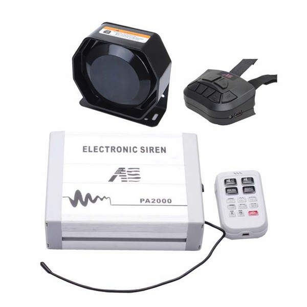 2020 AS 100W Police Car Siren Kit With Speaker Dual Remotes Microphone Wiring  Harness Auxiliary Light Terminals Fit For Police Ambulance From  Knsdevelopment, $70.56   DHgate.ComDHgate.com