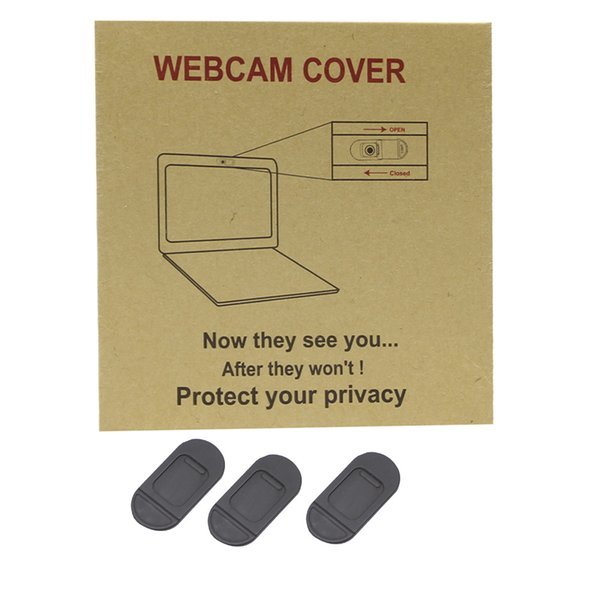 100pcs/lot 2017 High Quality WebCam Cover For Web Laptop iPad PC Mac Tablet Privacy