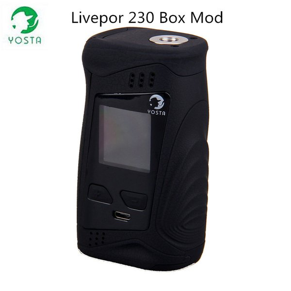 Original TC Box Mod 230w Boxform Elektronische Zigarette Mod Yosta Livepor 230 mit 1.33 Zoll IPS-Bildschirm 18650