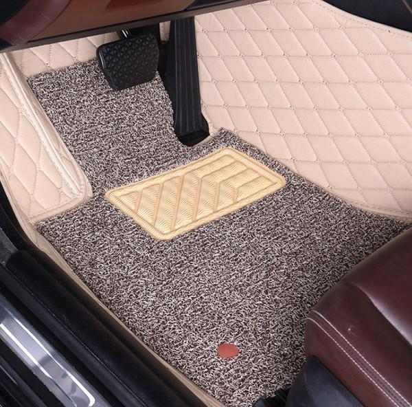 Customized car floor mats for Porsche Cayenne 955 957 958 hybrid Turbo S GTS Macan Cayman Panamera 911 high quality luxury carpe