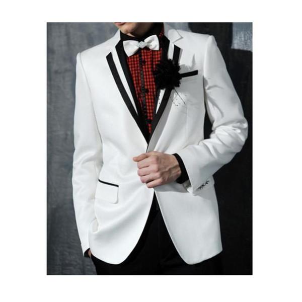 qax760 Abito Due A Da Uomo Giacca Acquista Bianco Uomo Pezzi Vestito Da Pxq818