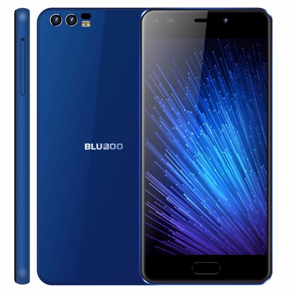 BLUBOO D2 5.2 inch 3G Smartphone MTK6580A Quad Core Android 6.0 1G RAM 8G ROM Cell Phone Dual Rear Cameras 3300mAh Mobile Phone