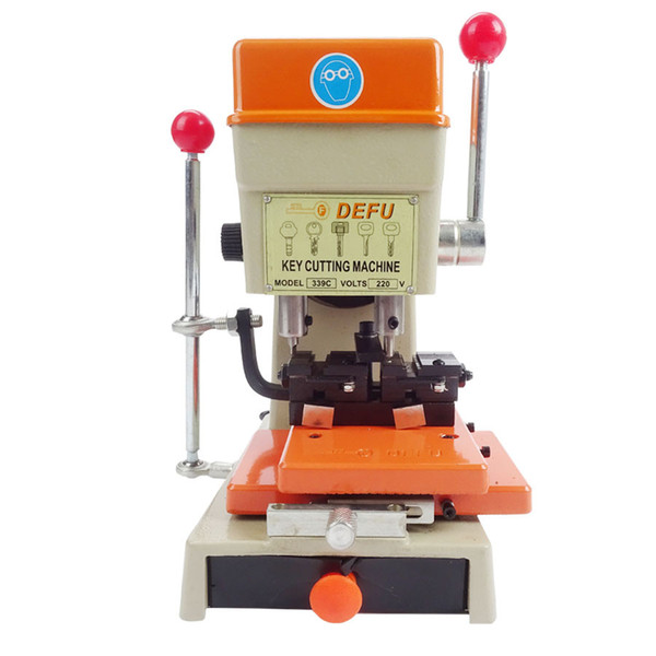DeFu-339C Auto Car Key Cutting Machine Locksmith Tools Auto Lock Pick Gun Hooks Kit Set Open Car Door