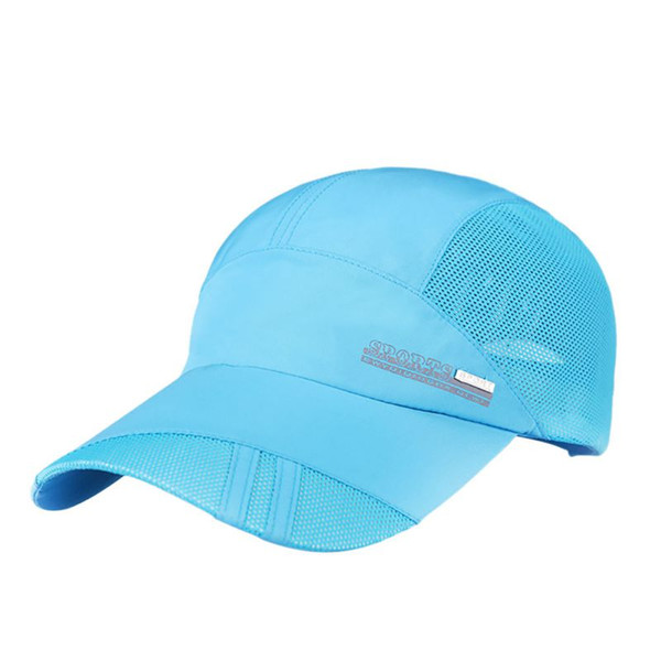 2018 Unisex Summer Outdoor Sport Hat Running Visor cap Hot Popular Baseball Sport Caps Hiking Caps