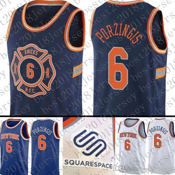 separation shoes 93903 56d3b 2018 2018 New Top Quality New York 6 Kristaps porzingis Knicks Jersey 6  Kristaps porzingis Basketball Jerseys From Best2018jersey, $16.17    Dhgate.Com