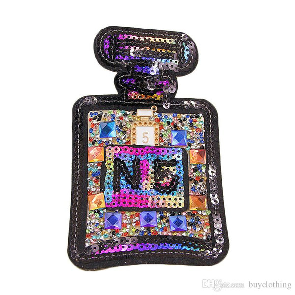 best selling Sequin embroidery patch diy clothing patch applique decoration DIY accessories Sewing Supplies