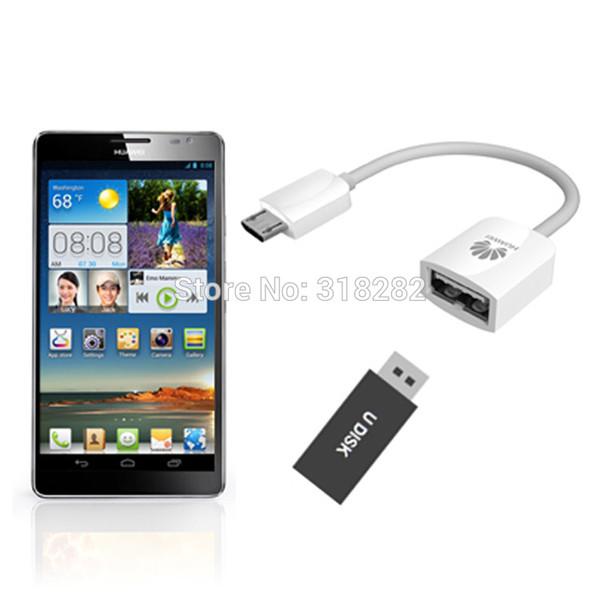 Original HUAWEI Micro USB To USB OTG Cable adapter for Honor XIAOMI MEIZU ONEPLUS 1 x ASUS ZENFONE 2