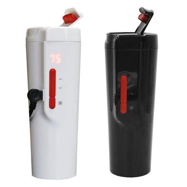 350 ml Auto Auto Intelligente Temperaturregelung Tasse Auto Heizung Tasse Kaffee Wasserkocher Zigarettenanzünder Adapter Stil
