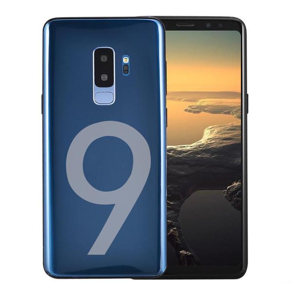 Goophone 9 PLUS note 8 Fingerprint-Quad-Core 1 GBRAM 16 GBROM 6,2-Zoll-Mobiltelefon mit Vollbildanzeige 4G LTE-Android-Gerät mit nicht gesperrtem Telefon
