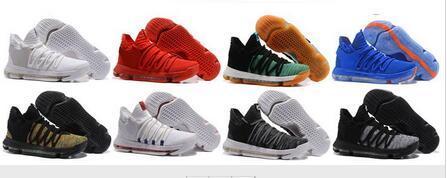 Zoom KD 10 Basketball Shoes Men Men's Homme Blue Tennis BHM Kevin Durant 10 X 9 Elite Floral Aunt Pearls Easter Sport Shoes