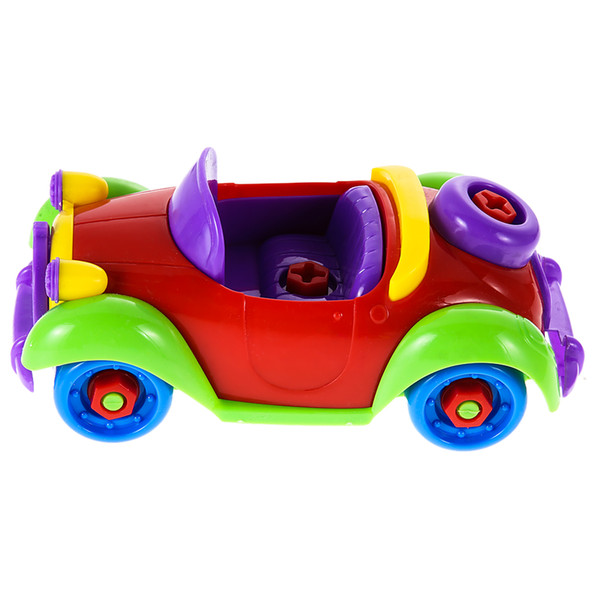 Colorful Baby Kids Disassembly Assembly Car Puzzle Toy Early Educational Toy DIY Bricks Toys for Children Gift Toys