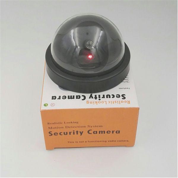 Fake Dummy Simulated Decoy SECURITY CAMERA Surveillance CCTV Red Flashing LED