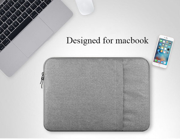 Nylon Laptop Sleeve Notebook Bag Pouch Case for Macbook Air 11 13 12 15 Pro 13.3 15.4 Retina Unisex Liner for Xiaomi Air free ship