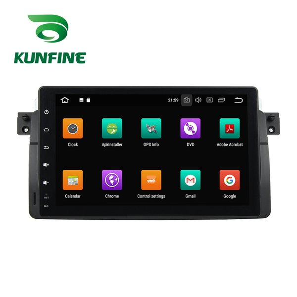 4GB RAM Android 8.0 Octa Core Car DVD GPS Player Navigation Stereo for BMW E46 1998 1999 2000 2001 2002 2003 2004 2005 Radio Deckless