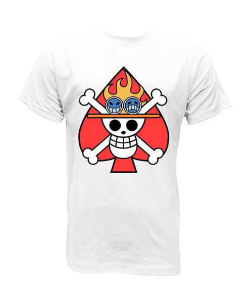 f81feb85 Camiseta T Shirt Bandera Ace One Piece XS S M L XL Cool Shirts ...