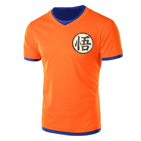 Ejderha topu süper tişörtlü goku kostüm erkek tshirt anime erkek Dragonball süper Z Beerus mavi t-shirt giyim üst tees Y1892108