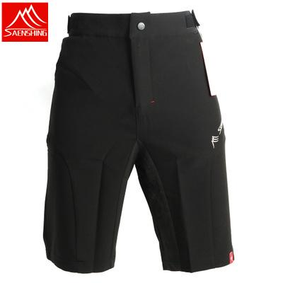 best selling Free Shipping! SAENSHING Brand Men Shorts Cycling Breathable Quick Dry Riding Short Outdoor MTB Bike Shorts 18 orders Cycling shorts