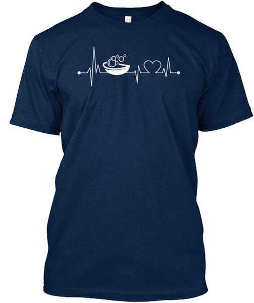 Heartbeat Hobby_soapmaking T-shirt Élégant T-shirt Erkekler Için Benzersiz Özel Kısa Kollu Erkek Arkadaşının XXXL erkek Camiseta
