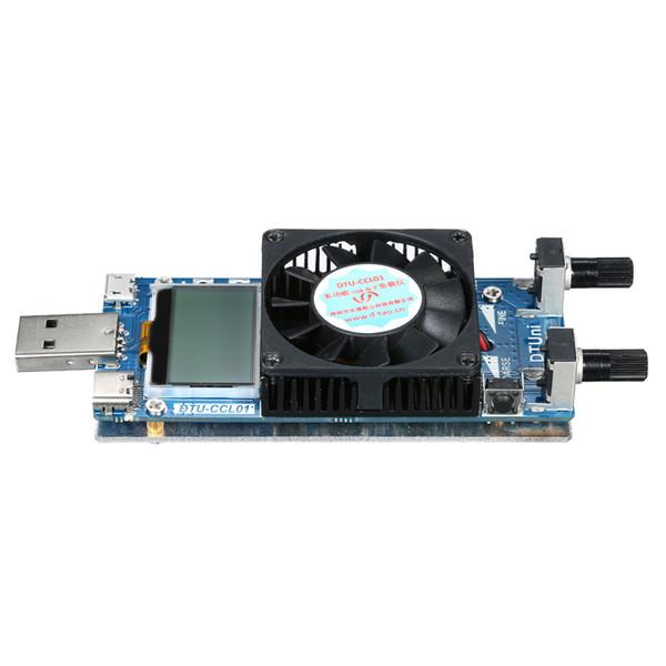 0.2A ~ 3A 35W LCD Tester elettronico del carico del carico del tester del tester di carico di tensione costante regolabile di corrente con il ventilatore di raffreddamento