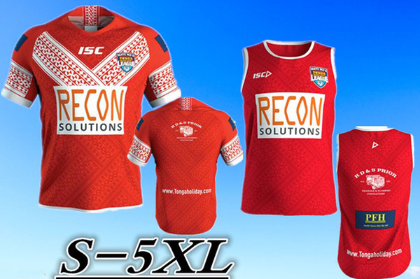 TONGA RUGBY LEAGUE 2018 HOME JERSEY TRAINING SINGLET JERSEY size: S -5XL SYDNEY ROOSTERS Maori All Blacks 2019 NORTH QUEENSLAND COWBOYS