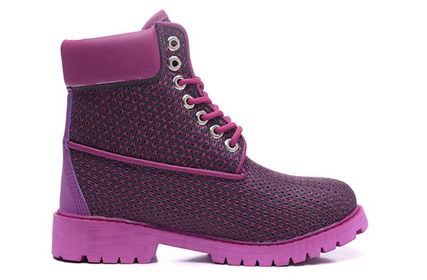 Compre Nuevo Diseñador Timber 6 Pulgadas Nido Siete Colores Luminosos Púrpura Botas De Caminata Zapatillas De Deporte Zapatos Casuales Para Mujeres