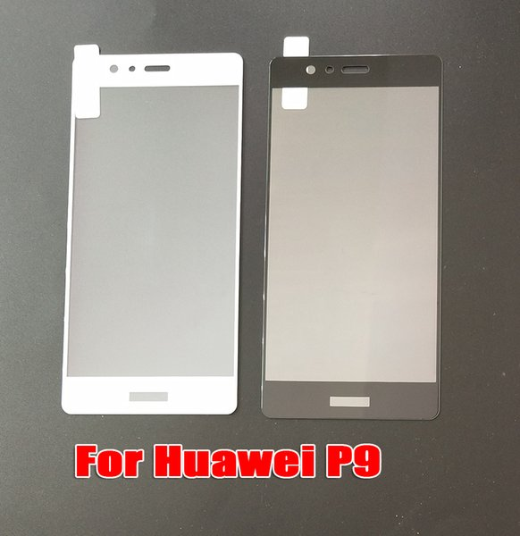For Huawei P9 P9PLUS Mate 10 PRO Mate10 Lite Mate 9 PRO Full Cover Tempered Glass Phone Screen Protector Film DHL Free shipping