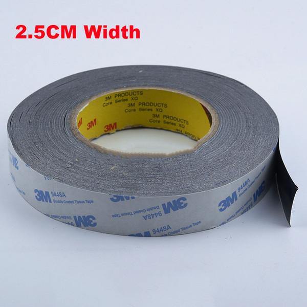 1 metro 25 mm Ancho 3M9448A Cinta de tejido de doble revestimiento Almohadilla térmica adhesiva térmicamente conductora para el disipador de calor del radiador