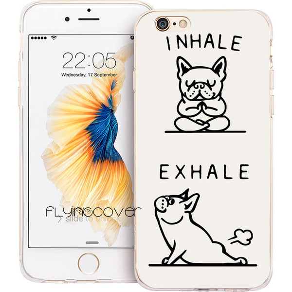 Coque French Bulldog Quotes Clear Soft TPU Silicone Phone Cover For IPhone  X 7 8 Plus 5S 5 SE 6 6S Plus 5C 4S 4 IPod Touch 6 5 Cases. Personalized ...