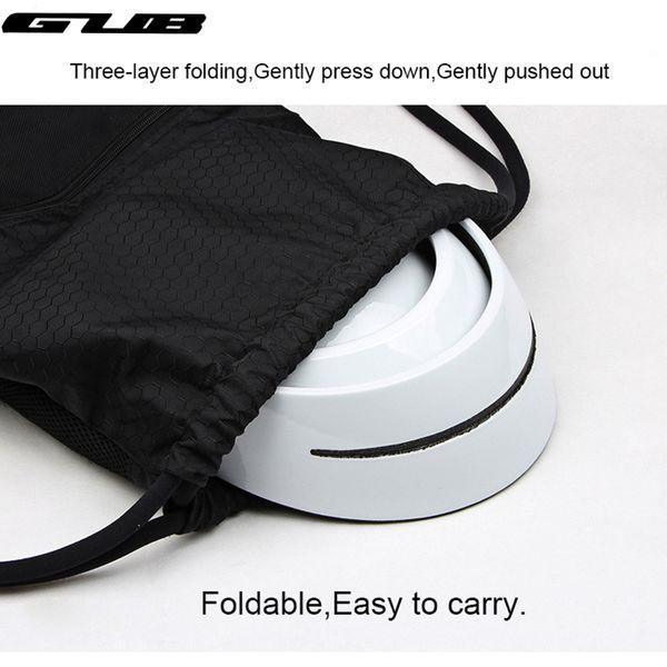 GUB New Design Bicycle Folding Helmet EPS+PC City Leisure Helmets Women Men Adult Riding Cycling Folding Helmets Integrally-mold