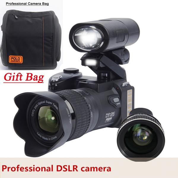 Original POLO D7300 Digitalkamera HD1080P 3.0LCD 24-facher optischer Zoom 33 MP 3-Modus ergänzendes Licht, drei Fußrahmen DHL-frei