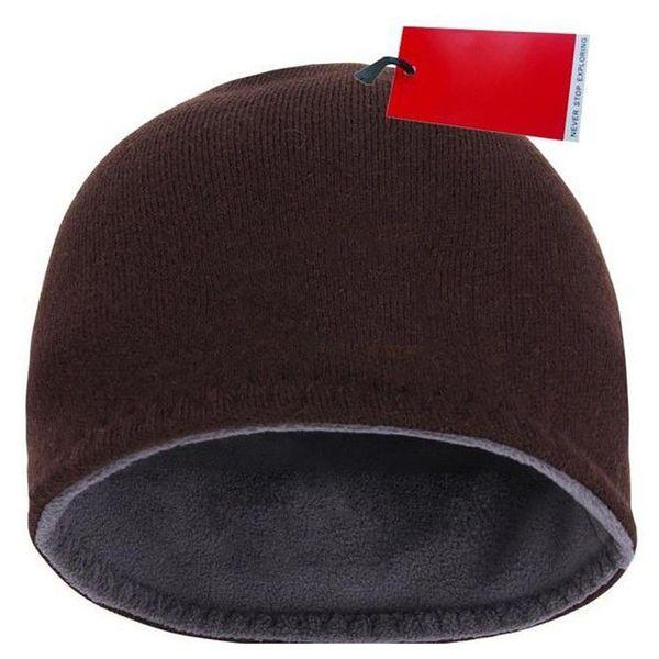 14d2f4f49341f Gorros de moda Hombres de la marca Otoño Invierno Sombreros Deporte  Sombrero de punto Espesar Cálido