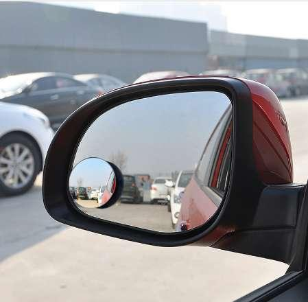 2pcs Car Mirror Auto 360 Wide Angle Round Convex Mirror Car Vehicle Side Blindspot Blind Spot Mirror Small Round RearView r