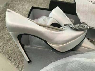nude color silk fine heel diamond square button platform high heel women bridal dress party club shoes 503