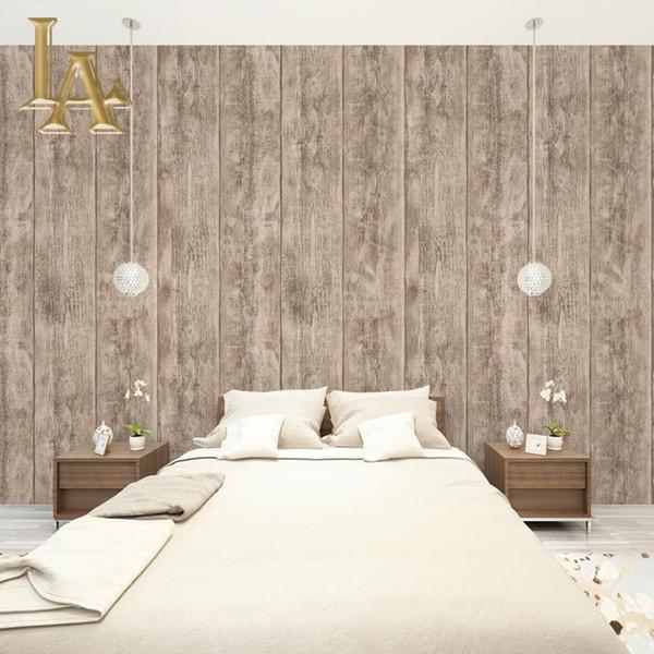 Großhandel Moderne Einfache 3D Holztapete Für Wände Vinyl Tapetenrollen Für  Schlafzimmer Wohnzimmer Sofa TV Hintergrund Decor Von Hangu, $37.07 Auf ...