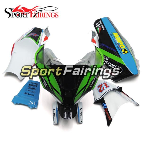 Fiberglas Racing Fairings Fit für Kawasaki ZX-10R Jahr 2011 - 2015 High Quality Complete ABS Injection Kunststoffverkleidungen blau grün schwarz