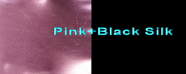 Pink+Black Silk