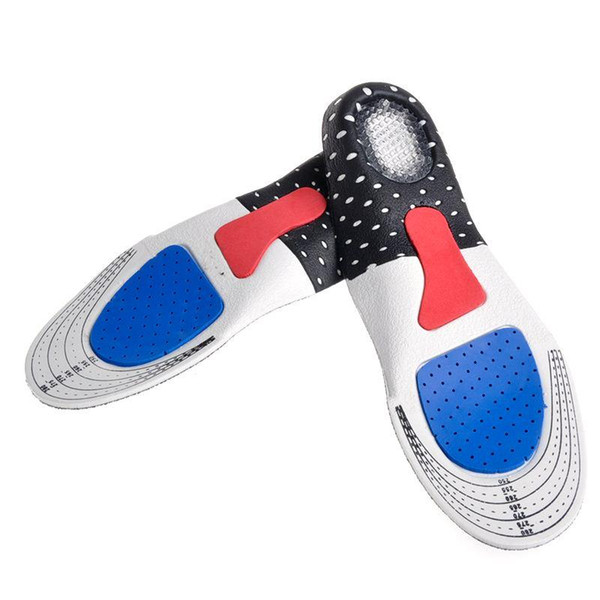 Free Size Unisex Orthotic Arch Support Shoe Pad Gel Insoles Insert Cushion for Men Women
