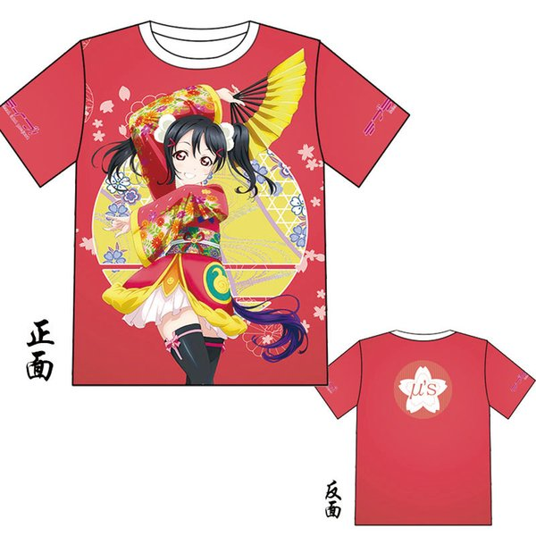 Lovelive Colorful Tops Vendita calda Black Butler T-shirt da uomo JOJO manica corta per maglietta estiva