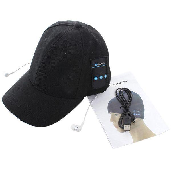 New Arrival 2016 Summer Sport Bluetooth Hat Baseball Cap Wireless Music Hat Smart Music Speaker Bluetooth Cap for phone 6 7 s