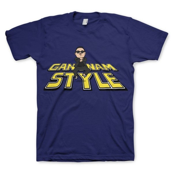 Psy Gangnam Syle T-ShirtFunny frete grátis Unisex tee