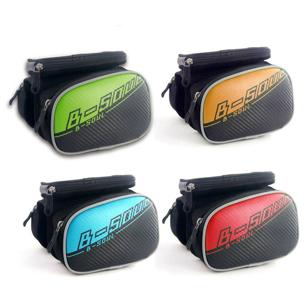 Waterproof Bicycle Front Touch Screen Phone Bag MTB Road Bike Cycling Mobile Bag Cycle Front Cellphone