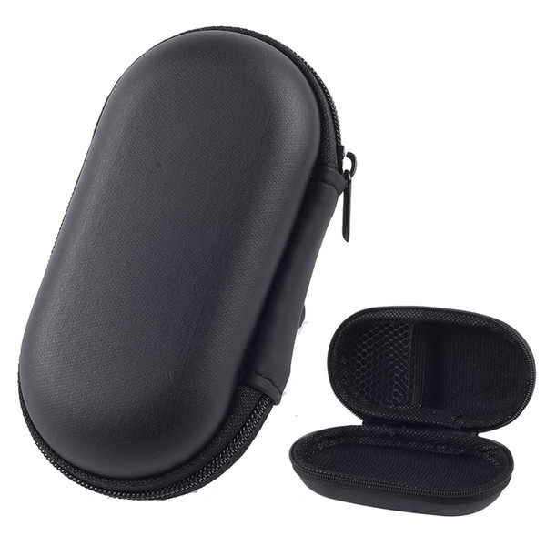 Zipper Bag Earphone Cable Mini Box SD Card Portable Coin Purse Headphone Bag Carrying Pouch Pocket Case Cover Storage Bags Boxes