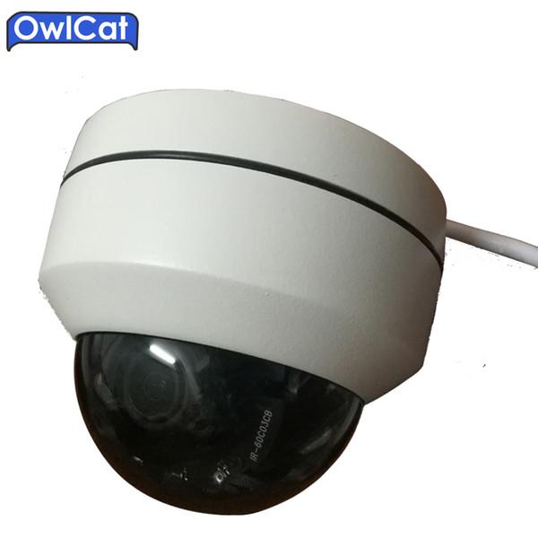 OwlCat SONY Mini CMOS крытый / открытый 1080P безопасности CCTV купол IP-камеры PTZ 3x оптический зум моторизованный сетевой камеры ИК Onvif
