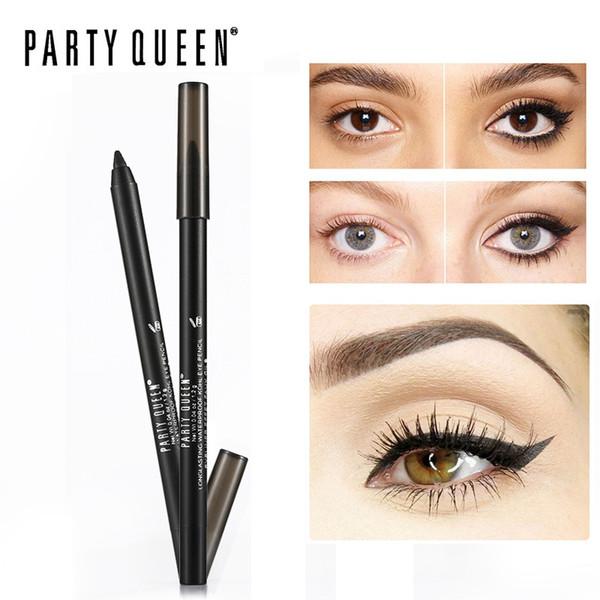 Party Queen Eyeliner Effet Faux Cils Gel Eyeliner Pencil long-lasting Waterproof kohl eye pencil Makeup Smudgeproof