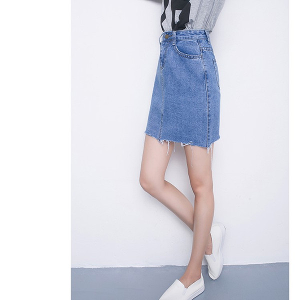 2019 2018 Summer New Arrival Half Dress A Line Short Skirt With Sweat Style  For 18 24 Years Old College Students From Wujiamin88, $19 29 | DHgate Com