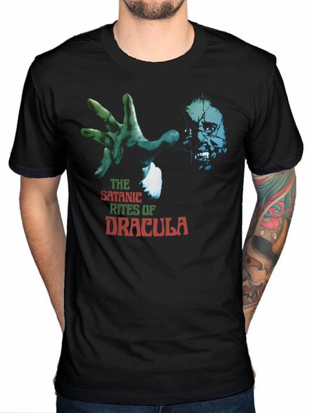 Resmi Plan 9 Satanic Dracula Rites Yeni Grafik Unisex Tişört Merch Mens Üst Tee Satılık Doğal Pamuk Tee Gömlek